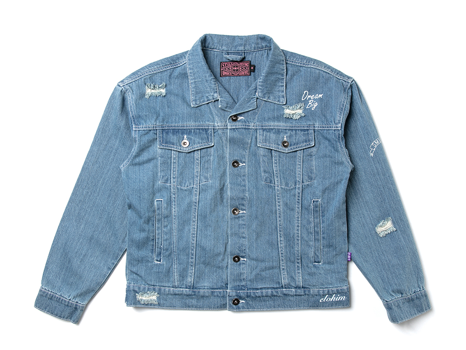 J-1709_Girl Oversize Denim Jacket-01