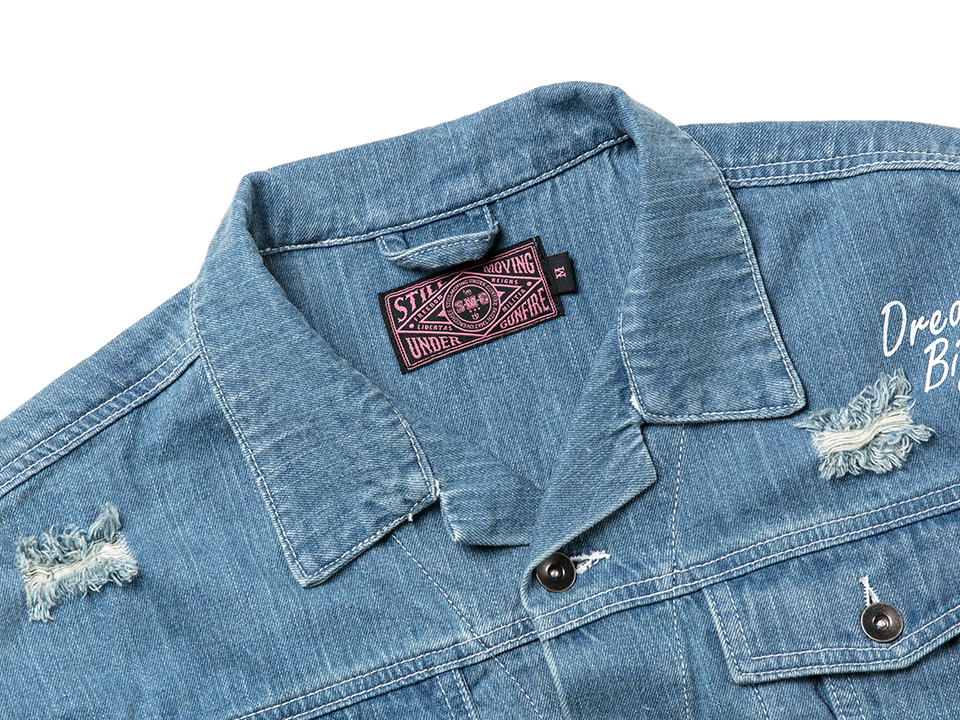 J-1709_Girl Oversize Denim Jacket-03
