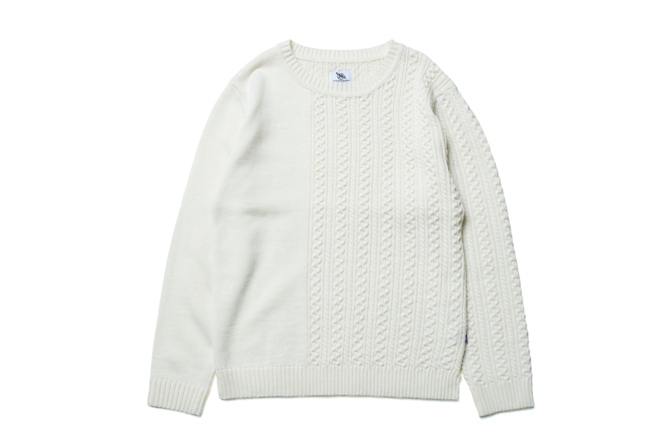 SMG2018_K-1801_Patchwork Knitted Sweater01