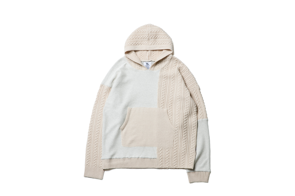 SMG2018_T-1846_Patchwork Knitted Hoodie01