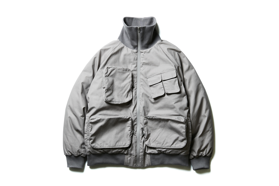 SMG2018_J-1817_High Neck Multiple Pocket Bomber Jacket01